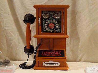 Hard to Find Vintage Coca Cola Wall Phone