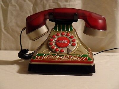 Coco Cola Desk Vintage Desk Phone. Gently Used but in good working order