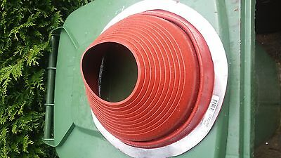 Dektite Original for Metal Roofs 150 to 280mm Pipe External Dia RED SILICONE