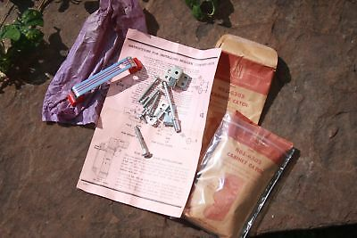 Pair Vintage Cabinet Handle National Lock Hardware Latch Catch New Old Stock
