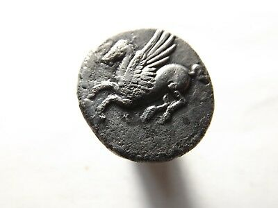 Higher Quality Ancient Greek Silver Coin: Corinthia, Stater - Pegasus