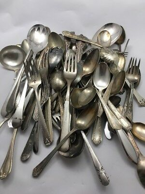 Craft Silverplate Flatware Mixed Vintage Lot