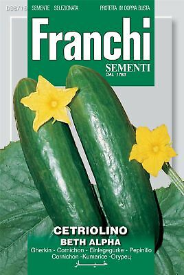 Franchi Seeds of Italy - Cucumber - Beth Alpha - Seeds