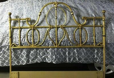 Solid Brass Queen sized Bed headboard - Price special!!