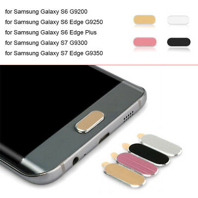 Home Button Lot Metal Sticker Protective Case Skin for Samsung Galaxy Series