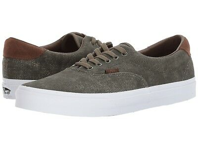 Vans ERA 59 (C L) Birds Grape Leaf Washed GREEN Canvas Men Casual Skate 62501f0d03