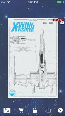 TOPPS STAR WARS Digital Card Trader X-Wing/ Star ... on b-wing schematics, at-at schematics, a wing fighter schematics, tie interceptor schematics, minecraft schematics, y-wing schematics, halo warthog schematics,