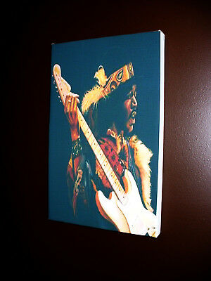 Jimi Hendrix canvas art print.