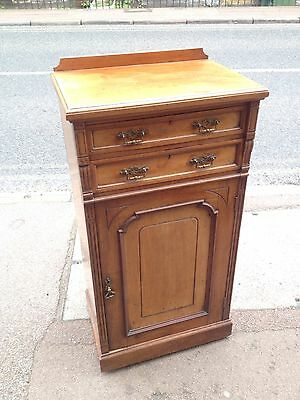 Pretty Edwardian Side Music Cabinet
