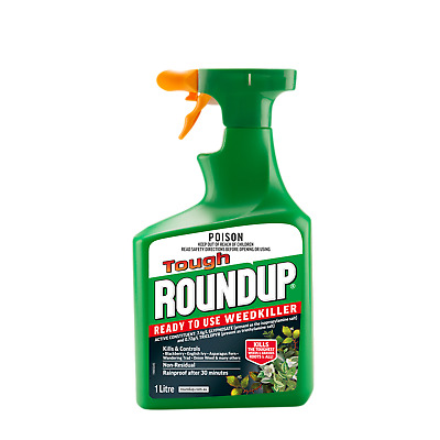 Roundup 1L Tough Ready To Use Weedkiller