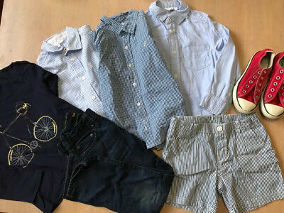 bulk boys clothing size 5 - 6 Jacadi Paris - Paul Smith - Gap - Converse - H&M
