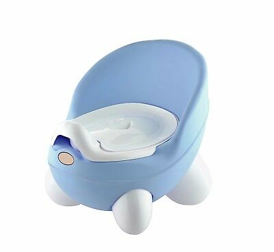 Panda Anti Slip Feet Baby Potty Training Seat Chair With Removable Pot Lid BLUE