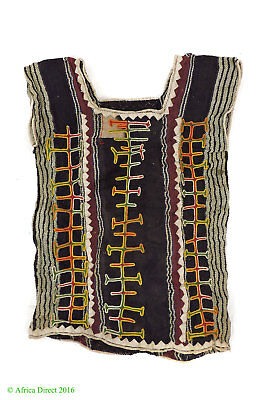 Wodaabe Bororo Child's Tunic Textile Embroidery Niger Africa