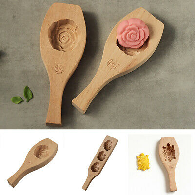 Christmas Decoration Cake Mold Baking Tool Mooncake Mould Pumpkin Pie - Rose