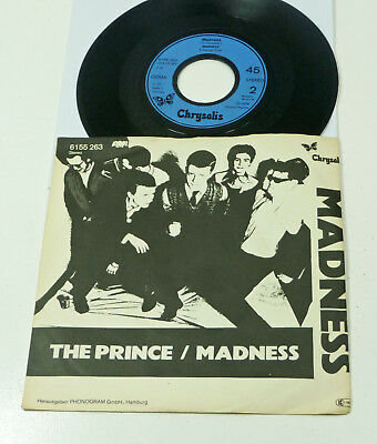 """MADNESS """"The Prince / Madness"""" M-/EX german 1979 Chrysalis PS 45 Ska Revival 70s"""