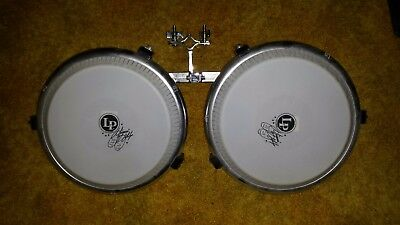 LP Giovanni Hidalgo Compact Conga Set 11.75 and 11 inch with mounting bracket