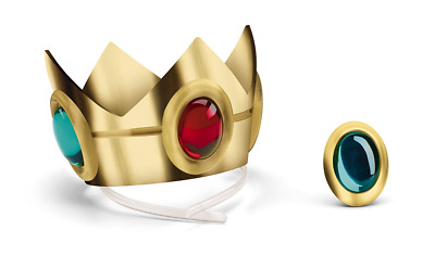 Disguise Princess Peach Crown and Amulet