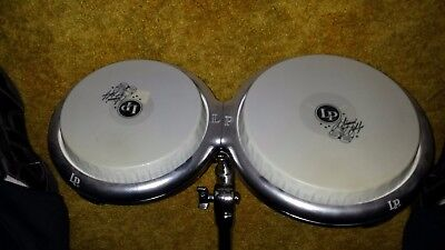 LP Giovanni Hidalgo Compact Bongo Set 7.25 inch and 5/8 inch heads