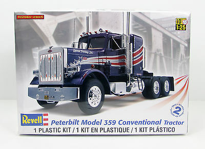 Peterbilt 359 Conventional Tractor Revell 85-1506 1/25 New Truck Model Kit
