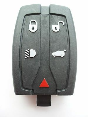 Replacement 5 button fob case for Land Rover Freelander 2 remote key 2007 - 2011