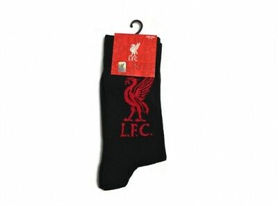 Liverpool FC - Adult Crest Socks (1 pair) - Size 6 to 11 - Official Product