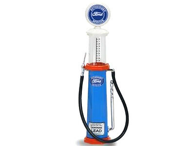 New In Box  1/18 Scale Diecast  Road Signature FORD Cylinder Gas Pump