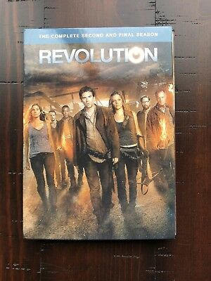 Revolution: The Complete Second Season (DVD, 2014, 5-Disc Set) used