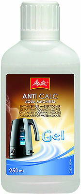 Melitta Anti Calc Descaler Gel For Electric Kettles 250Ml Limescale   6574772