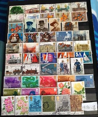 Gb Commemorative Stamps 1974 76,