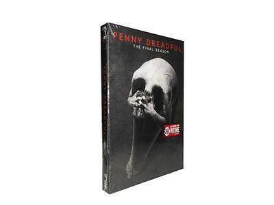 Penny Dreadful: The Final Season 3 (DVD, 2016, 3-Disc Set)