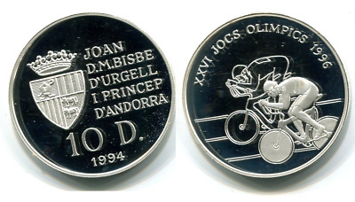 10 Diner 1994 Silber proof Oly