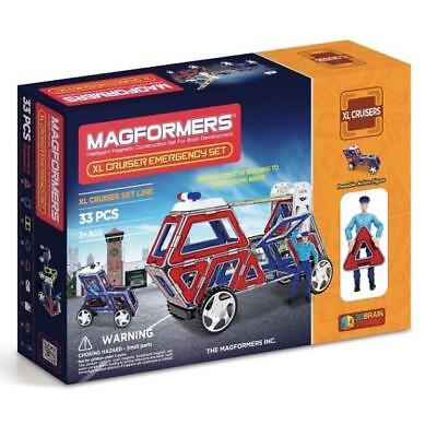NEW Magformers - XL Cruisers Emergency Set Kids Childrens Toys
