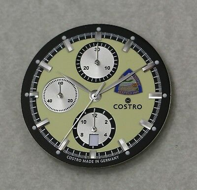 Dial and hands set for Eta Valjoux 7750 Movement 34.8 mm