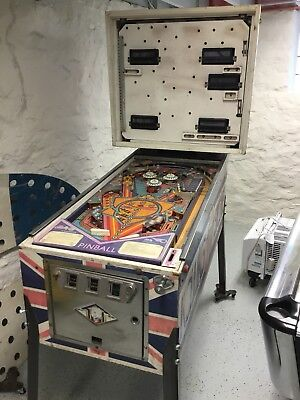 ROLLING STONES PINBALL MACHINE by BALLY...PROJECT MACHINE...BACKGLASS INCLUDED!