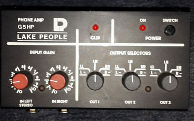 Lake People Headphone-Amp G5 HP