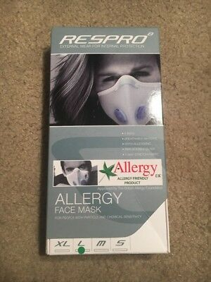 Respro Allergy Mask MCS Ei Respro Allergy Face Mask Chemical Sensitivity Large
