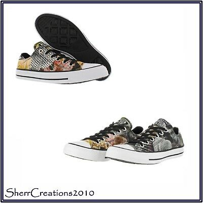 64036223711a8f New CONVERSE ALL STAR Chuck Taylor Digital Floral Print OX Low Top Sneakers