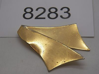 Vintage Jewelry Scarf Clip TRIFARI WITH CROWN GOLD TONE 8283