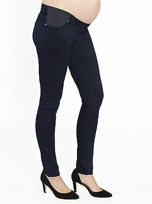 BNWT Angel Maternity Stretch Slim Jeans in Navy Size M (12) pants bottoms shorts