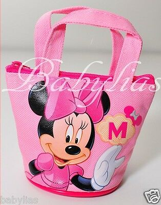 Disney Minnie Mouse Mini Coin Purse Tote Candy Filler Bags Party Favors