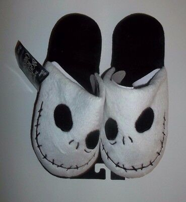 nwt-Womens Slippers-Nightmare Before Christmas-Jack Skellington-Size Small (5/6)