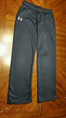 Under Armour Joggers Size Youth Medium Black Preowned