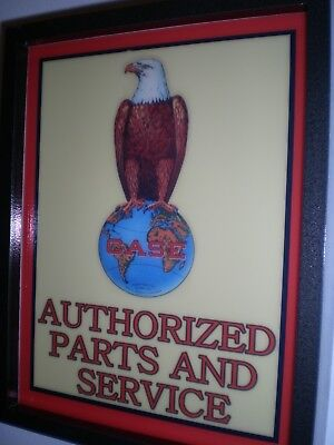 ***Case Eagle Logo Farm Tractor Barn Garage Advertising Man Cave Lighted Sign