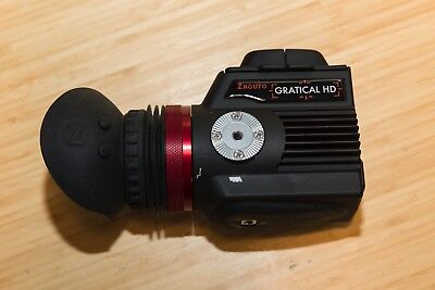 Zacuto Gratical HD Micro OLED electronic viewfinder; Excellent!  FREE SHIPPING!
