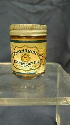 Rare Monarch Foods Salesmans or Free Sample of Monarch Peanut Butter Dated 1926