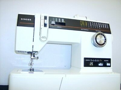HEAVY DUTY SINGER MODEL 6233 FREE ARM SEWING MACHINE - Denim - Upholstery