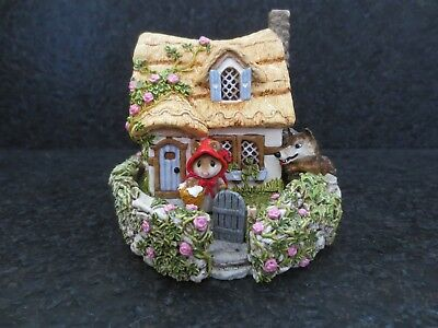 Wee Forest Folk WFF Red Riding Hood at Grandmother's House M172 Collectible