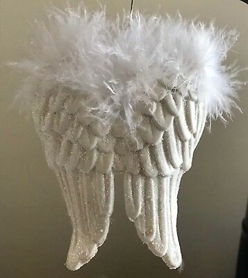 Luxe Angel Wings Ornament  **FREE SHIPPING**
