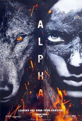ALPHA great original D/S 27x40 movie poster (s001)