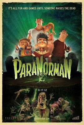 PARANORMAN great original D/S 27x40 movie poster (s001)